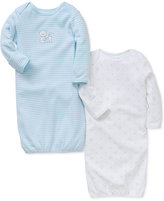 Little Me Baby Boys' 2-Pk. Lap-Shoulder Sleeper Gowns