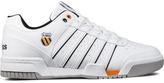K-Swiss White/Black/Orange Gstaad Shoes