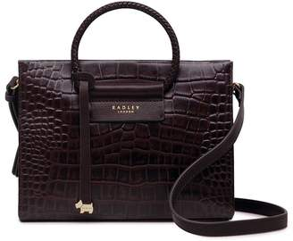 Radley London London Arlington Court Hoop Small Leather Satchel