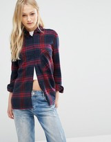 Pull&Bear Long Sleeved Check Shirt