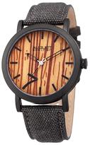 August Steiner Wood Dial Watch, 42mm wide