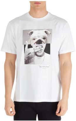 Neil Barrett Bulldog-man T-shirt