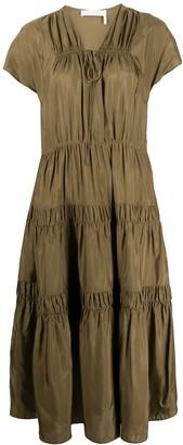 See by Chloe Tiered Midi Dress