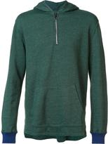 Goodlife - zipped pullover hoodie - men - Cotton/Polyester/Rayon - M