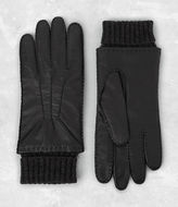 AllSaints Denver Leather Gloves