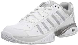 K-Swiss Performance Women's KS TFW Receiver IV Tennis Shoes, White (White/Highrise 01), 4 (37 EU)