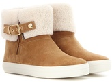 Burberry Skillman Shearling-lined Ankle Boots