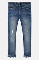 DL1961 Toddler Girl's Chloe Distressed Skinny Jeans