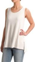 Lucy & Laurel Slub-Knit Tunic Tank Top (For Women)