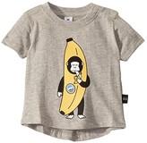 Huxbaby HUXBABY Banana Gorilla T-Shirt (Infant/Toddler) (Grey Marle) Kid's Clothing