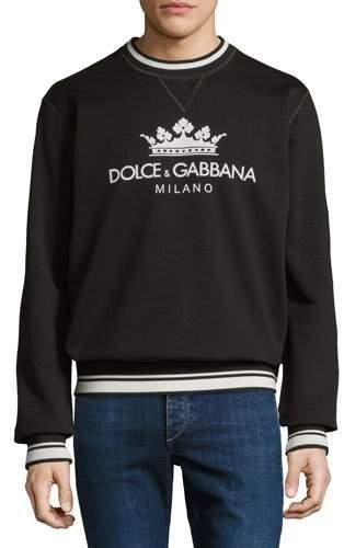Dolce & Gabbana Logo-Graphic Sweatshirt