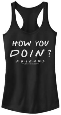 Fifth Sun Friends Joey Tribbiani How You Doin Quote Women's Racerback Tank