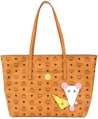 MCM Year Of The Rat Anya shopper tote