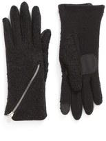 Echo 'Touch - Zip Bouclé' Tech Gloves