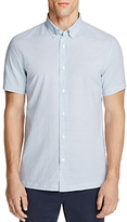 Billy Reid Murphy Jacquard Slim Fit Button-Down Shirt