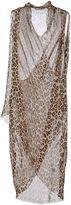 Alberto Biani 3/4 length dresses