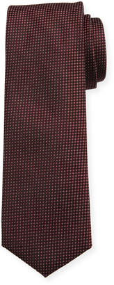 BOSS Men's Silk Micro-Print Tie
