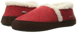 Acorn Moc Ragg (Red Ragg Wool) Women's Slippers