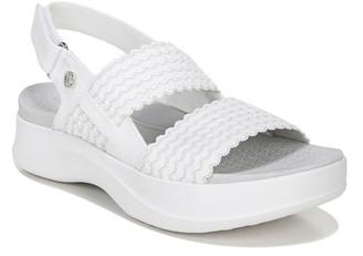 Bzees Ankle Strap Platform Sandals - Plush