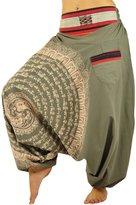 virblatt harem pants unisex aladdin pants alternative clothing–Nirvana