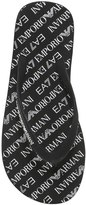 Ea7 Emporio Armani Sea World Printed Flip Flops