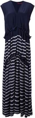 Sies Marjan striped silk dress