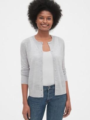 Gap Cardigan Sweater in Merino Wool