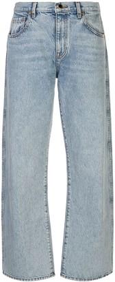 KHAITE Kerrie straight-leg jeans