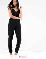 Glamorous Petite Strappy Tailored Jumpsuit