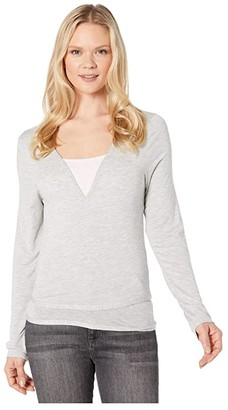 Lole Elisa Wrap (Light Grey Heather) Women's Clothing