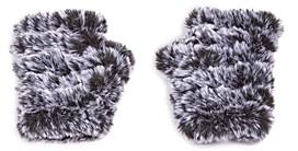 Jocelyn Mandy Snowtop Faux Fur Knit Mittens