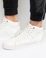 G-star Stanton High Trainers In White