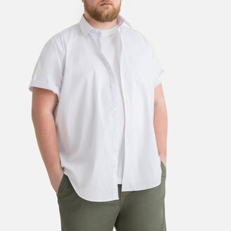 La Redoute Collections Plus Short-Sleeved Straight Shirt