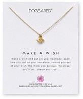 "Dogeared Swarovski Crystal Make a Wish Evil Eye Necklace, 18"" - 100% Bloomingdale's Exclusive"