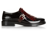 Tod's Gomma fringed patent loafers