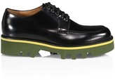 Thumbnail for your product : Dries Van Noten Lug Sole Patent Leather Derbies