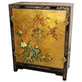 Oriental Furniture Small Liquor Wine Cabinet Idea, 30-Inch Ming Lacquered Oriental Shoe Cabinet Chest
