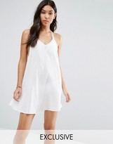 Wolfwhistle Wolf & Whistle Strappy Back Beach Dress