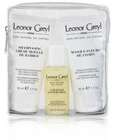 Leonor Greyl Luxury Travel Kit - Huile de Leonor Greyl, Shampooing Moelle de Bambou, Masque Fleurs de Jasmin
