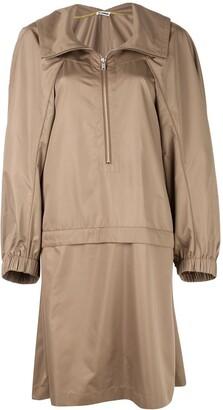 Jil Sander Oversized-Fit Raincoat