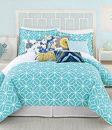 Trina Turk Trellis Turquoise Comforter Mini Set