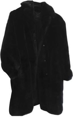 Max Mara Weekend Blue Faux fur Coats