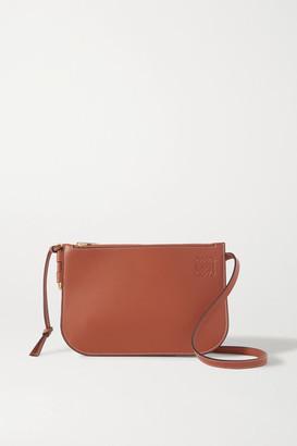 Loewe Gate Leather Shoulder Bag - Brown