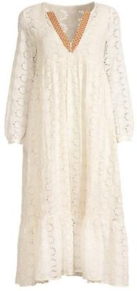 Johnny Was Gara Embroidered Maxi Dress