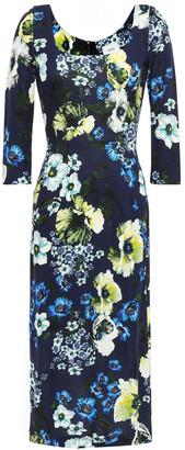 Erdem Floral-print Ponte Dress