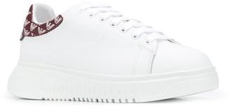Emporio Armani Logo Heel Counter Sneakers