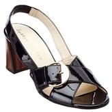 Bettye Muller Pepper Patent Sandal.