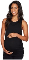 Beyond Yoga Slinky Modal Twisted Open Back Maternity Tank Top Women's Sleeveless