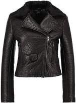 Gipsy BELEN Faux leather jacket black
