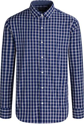 Bugatchi Men's Cotton Plaid Button-Down Shirt